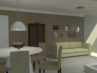 Projeto de Interiores: Salas de jantar  por Layla Araújo Arquitetura,