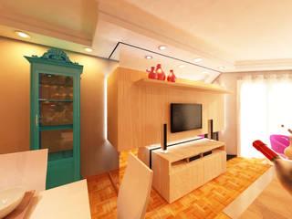 Studio² Ruang Keluarga Modern