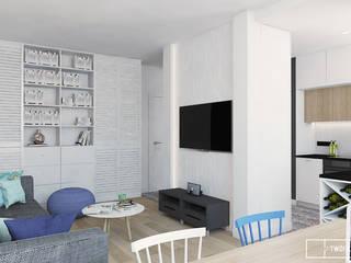 Twój Kwadrat Mediterrane Wohnzimmer Schwarz