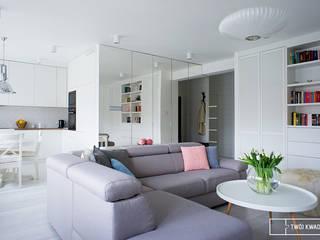 Twój Kwadrat Moderne Wohnzimmer