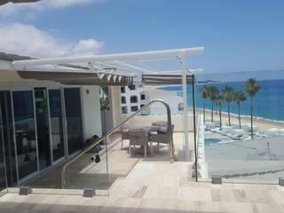 FASE PALILLERIAS ZEN GAVIOTA para Terrazas Habitaciones Hotel:  de estilo  por HLA181026V73