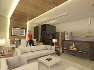 Loft Merlo + Merlo Motors Comedores modernos de AParquitectos Moderno
