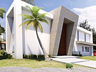 AParquitectos Casas modernas Piedra