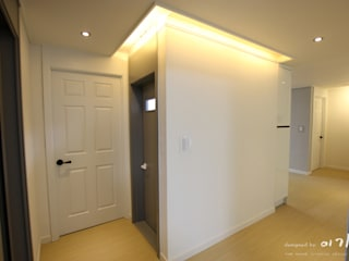 둔산동 한마루아파트 37평형: 더홈인테리어의  욕실