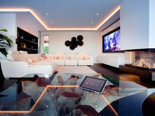 Salas de estilo asiático por Klaus Geyer Elektrotechnik