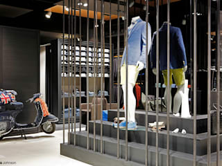 House of Men store:  Winkelruimten door Grand & Johnson