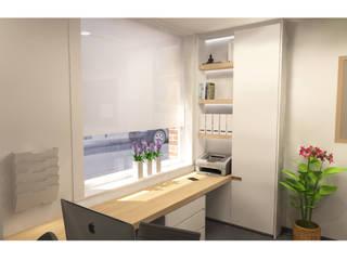 Bureau Moderne kantoor- & winkelruimten van AD MORE design Modern