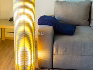 Bodenlampe, Stehlampe in 3 Höhen:   von wood-manufaktur,