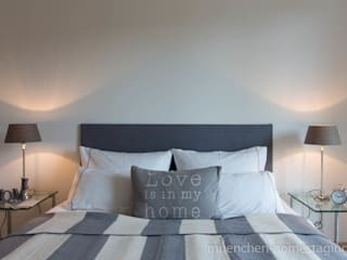 Bedroom by Münchner HOME STAGING Agentur