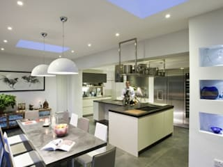 Regis Crepy - Kitchen Skylight Installation Modern windows & doors by Sunsquare Ltd Modern