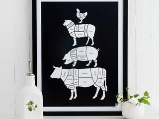 Kolekcja grafik kulinarnych - POLSKA od Follygraph Skandynawski