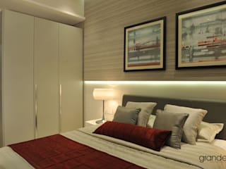 Show flat in Mumbai: modern  by Grandeur Interiors,Modern