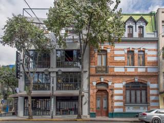Mercado Milán 44: Oficinas y tiendas de estilo  por Francisco Pardo Arquitecto