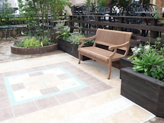 プチホテルに くつろぎの庭: office FAGUSが手掛けた庭です。