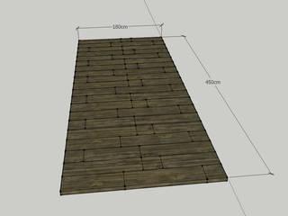 Rimini Baustoffe GmbH Rustic style garden Concrete