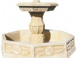 Fuentes con estanque para el jardín de Piedra Artificial Balaustres Martinez Clásico