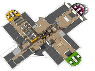 Polikliniek GGZ Drenthe Moderne gezondheidscentra van AP-Interieurarchitect Modern