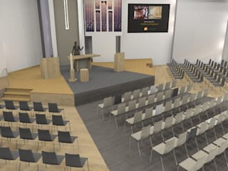 modernisering kerk :  Evenementenlocaties door AP-Interieurarchitect, Modern