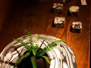 陶草ポット: 陶房 山本真郎が手掛けたアジア人です。,和風