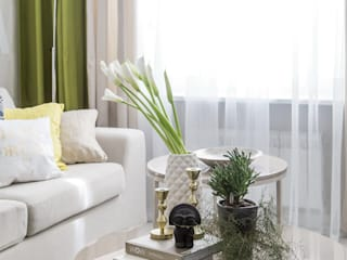 Living room by iPozdnyakov studio, Eclectic