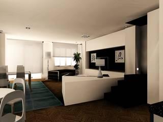 salon: Salones de estilo  de Carlos Roncero Showroom
