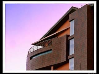 Casa Luna: Casas de estilo  de DAU arquitectos