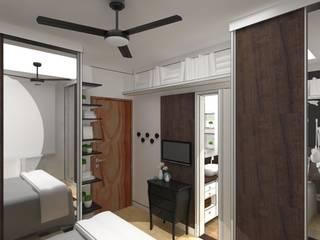 modern Bedroom by Arquiteta Fernanda Fedrizzi