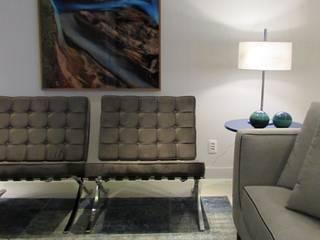 Living room by Deborah Basso Arquitetura&Interiores, Minimalist