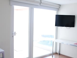 Ventanas de PVC Fensteq Hotels Glass White