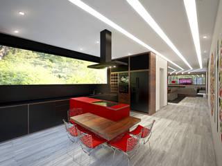 Moradia Familiar Moderna Cozinhas modernas por Tiago Martins - 3D Moderno