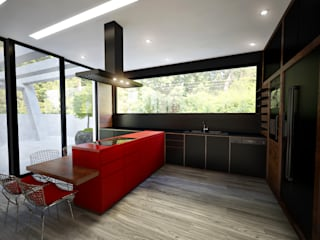 Cozinha: Cozinhas  por Tiago Martins - 3D