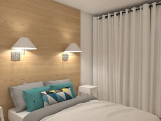 Dormitorios escandinavos de MARTIN Intérieur Escandinavo
