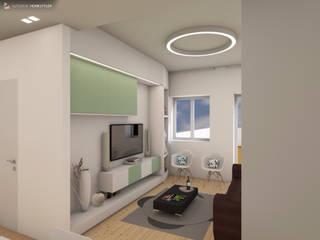 Immagine living:  in stile  di RDstudioarchitettura - daniele russo architetto