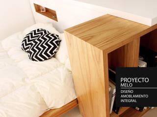 Diseño Integral - Ambientacion Dormitorios modernos: Ideas, imágenes y decoración de PANAL Moderno