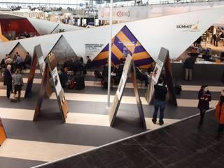 Wood Flooring Summit 2016 Modernes Messe Design von MATTER - Büro für Architektur und Städtebau Modern