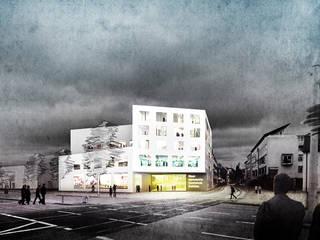 Hochschule Zwickau Moderne Schulen von MATTER - Büro für Architektur und Städtebau Modern