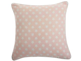Soft Pink Stars Cushion by Jasmine White London:   by Jasmine White London