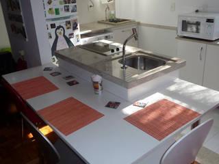 LOFT NO CATETE - RJ: Cozinhas  por Maria Helena Torres Arquitetura e Design