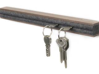Schlüsselbrett aus Holz von schlüsselbrett.ch Minimalistisch