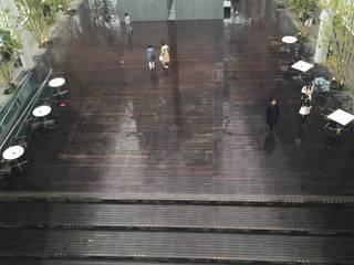 ハルカス展望台 フロアーアート: イデアール・スタディオが手掛けたです。