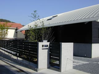 車作の家(アール屋根と吹抜けを持つ鉄骨住宅) オリジナルな 家 の ATS造家設計事務所 オリジナル