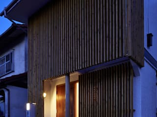 Daigo House(外観も含めた、全面リフォーム) ATS造家設計事務所 オリジナルな 家 木 木目調