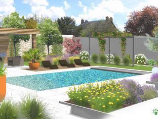 Jardin à Fontenay-le-Vicomte - 91 (Projet en cours ): Jardin de style  par  Sophie Durin | Empreinte Paysagère
