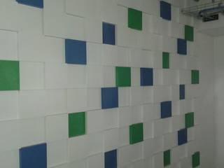 Lojas & Imóveis comerciais modernos por La Carpinteria - Mobiliario Comercial Moderno