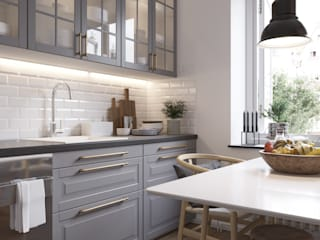 Scandinavian style kitchen by Shevchenko_Nikolay Scandinavian