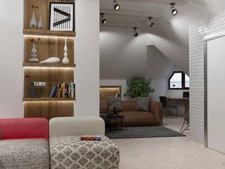 Moderne Wohnzimmer von Pavel Alekseev Modern