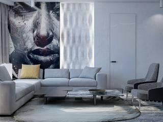 Minimalistische Wohnzimmer von Pavel Alekseev Minimalistisch