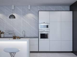 Minimalistische Küchen von Pavel Alekseev Minimalistisch