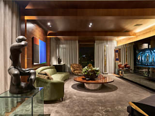 classic Living room by Gislene Lopes Arquitetura e Design de Interiores