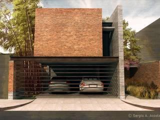 FACHADA: Casas de estilo moderno por 75 Arquitectura